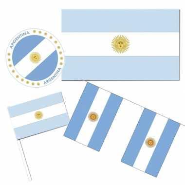 Feestartikelen argentinie versiering pakket- feestje!