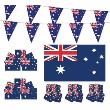Feestartikelen australie versiering pakket- feestje!