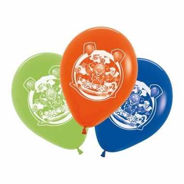 Feestartikelen clowns ballonnen 5 stuks- feestje!