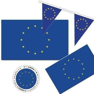 Feestartikelen europa versiering pakket feestje