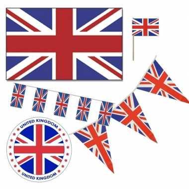 Feestartikelen groot brittannie versiering pakket- feestje!