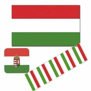 Feestartikelen hongarije versiering pakket- feestje!