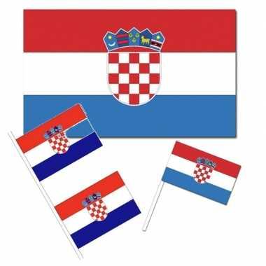 Feestartikelen kroati versiering pakket feestje