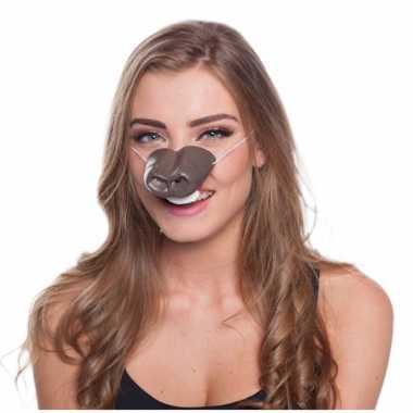Feestartikelen paarden neus masker- feestje!