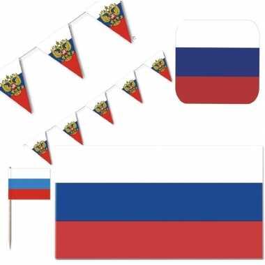 Feestartikelen rusland versiering pakket feestje