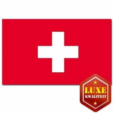 Feestartikelen vlag zwitserland- feestje!