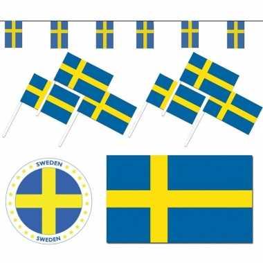 Feestartikelen zweden versiering pakket- feestje!