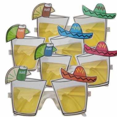 Feestbril mexicaanse tequila- feestje!