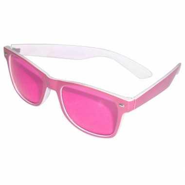 Feestbril roze- feestje!