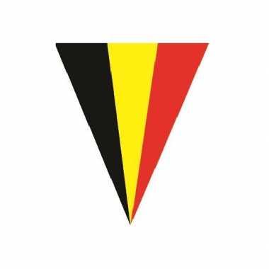 Feestdecoratie belgie vlaggenlijn 5 meter- feestje!