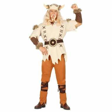 Feestkleding viking lichtbruin voor heren- feestje!