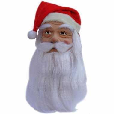Feestmasker kerstman- feestje!
