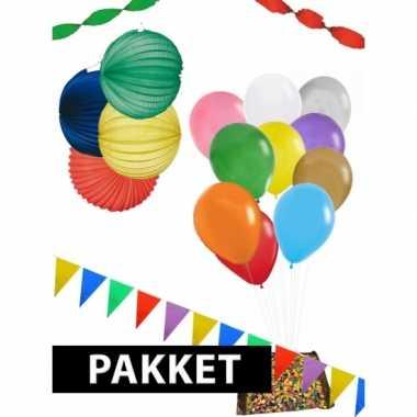 Feestpakket voor 30 personen- feestje!