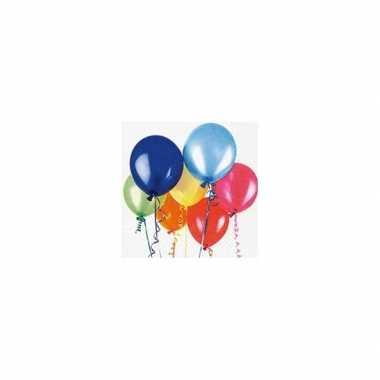 Feestservetten verjaardag ballonnen- feestje!