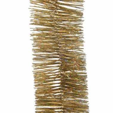 Feestslinger goud glitter folie 7 x 270 cm- feestje!