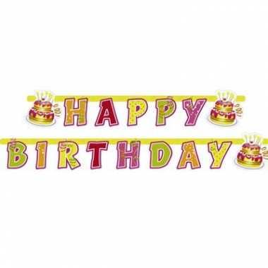 Feestslinger happy birthday feestje