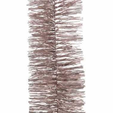 Feestslinger lichtroze folie 7 x 270 cm- feestje!