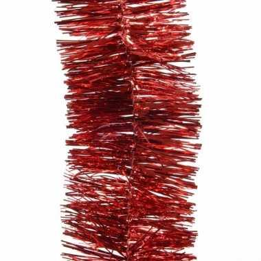 Feestslinger rood folie 7 x 270 cm- feestje!