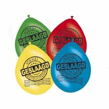 Feestversiering afgestudeerd ballonnen 16x- feestje!