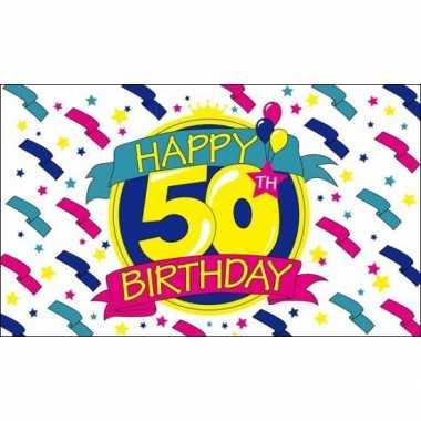 Feestvlag 50 jaar- feestje!