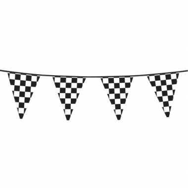 Finish feestversiering vlaggenlijn 6 meter- feestje!