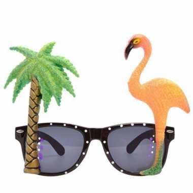 Flamingo brillen tropisch thema feest- feestje!