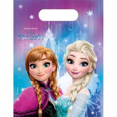 Frozen thema feestzakjes- feestje!