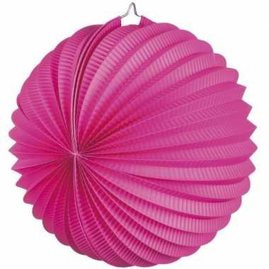 Fuchsia roze gekleurde feest lampionnen- feestje!