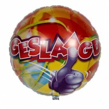 Gekleurde feest ballon geslaagd feestje