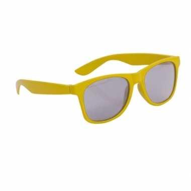 Gele kinder feest en zonnebril wayfarer feestje