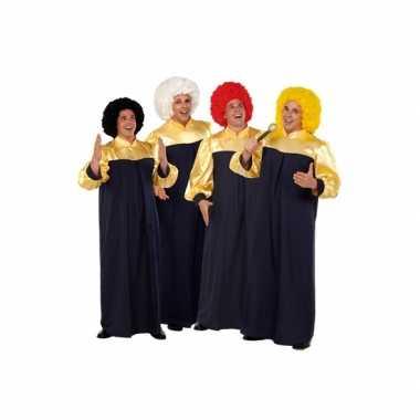 Gospel feest toga voor volwassenen feestje
