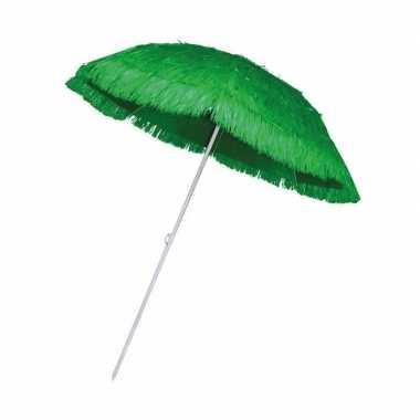 Groene parasol voor een hawaii feest- feestje!