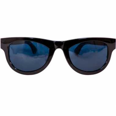 Grote zwarte feest brillen feestje