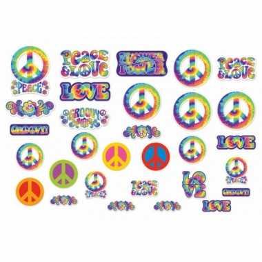Hippie feest decoratie 30 stuks- feestje!