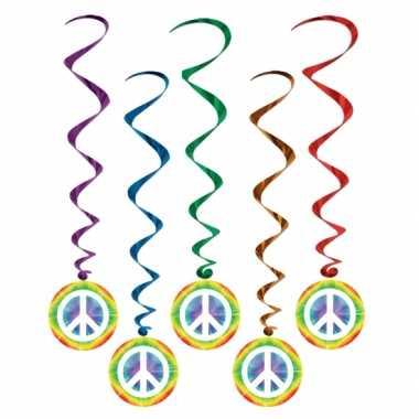 Hippie feestartikelen rotorspiralen- feestje!