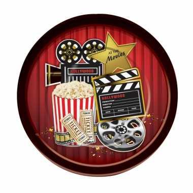 Hollywood feestbordjes 8 stuks- feestje!