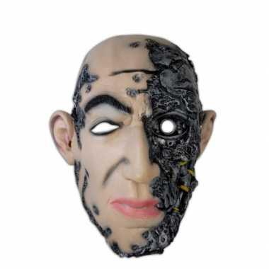 Horror feest masker cyborg- feestje!