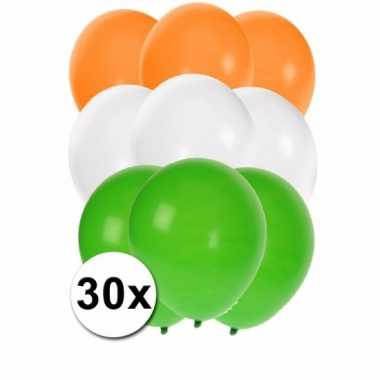 Indische feest ballonnen 30 st feestje
