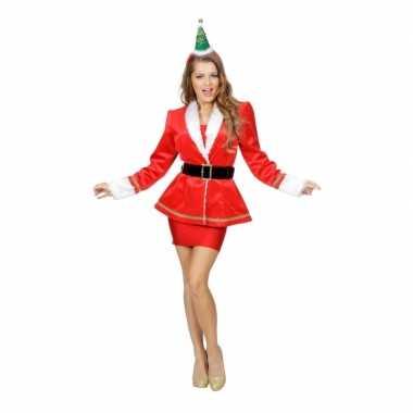 Kerstfeest colbert voor dames feestje
