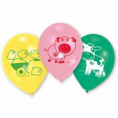 Kinderfeest ballon boerderij- feestje!