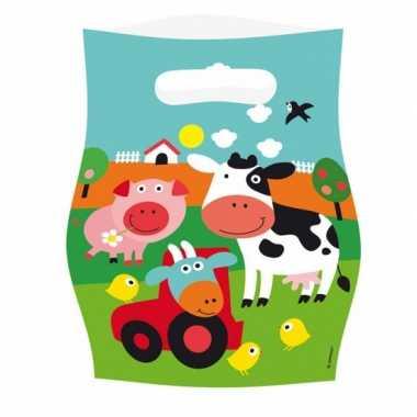 Kinderfeest zakjes boerderij- feestje!