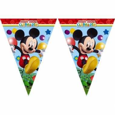 Kinderfeestje vlaggetjes mickey mouse 2,3 meter- feestje!