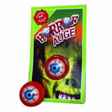 Kleverige horror oog/ogen voor horror/halloween feest- feestje!