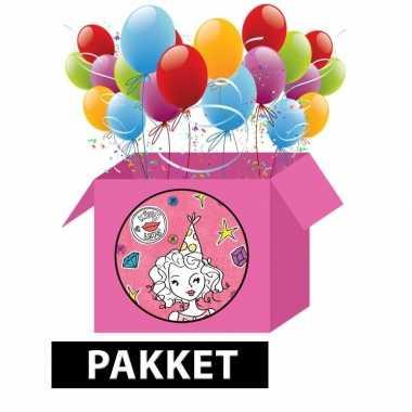 Knutsel kinderfeest pakket voor meisjes- feestje!