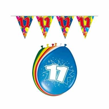 Leeftijd feestartikelen 11 jaar setje- feestje!