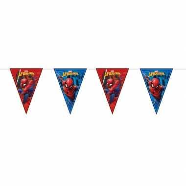 Marvel spiderman themafeest vlaggenlijn 230 cm- feestje!