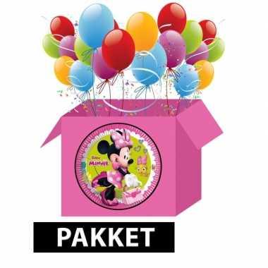 Minnie mouse kinderfeest pakket- feestje!