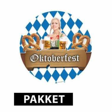 Oktoberfest feest pakket feestje