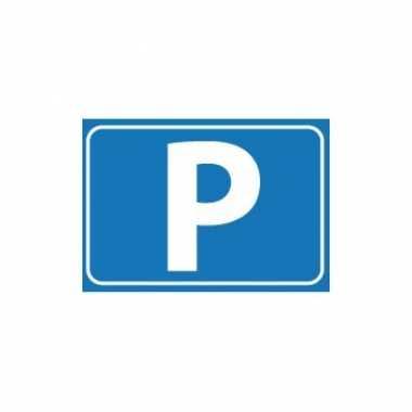 P-stickers van parkeren/pensioen thema - feestartikelenfeestje!