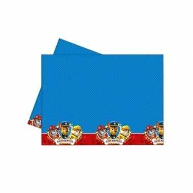 Paw patrol feest tafelkleed 120 x 180 cm- feestje!